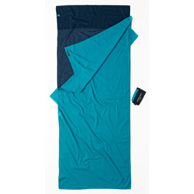 Cocoon TravelSheet Egyptian Cotton, tuareg/laguna blue